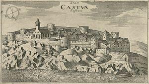 Kastav - Kastav in 1679