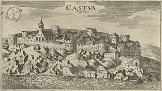 Kastav - Kastav in 1679