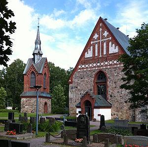 Church of St. Lawrence, Vantaa - Image: Vantaa church
