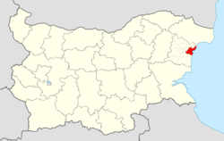 Varna Municipality Within Bulgaria.png