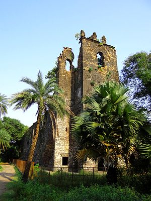 Fort Bassein - Image: Vasai fort facade