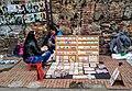 Venezuelan Refugees in Bogotá Selling Crafts Made of Worthless Venezuelan Cash (49070277587).jpg