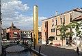Venice, Campo San Vio, James Lee Byars, Golden Tower.jpg