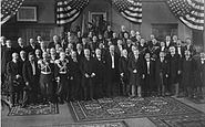 Verhandlungen zum Vertrag von Portsmouth 1905 - Empfang der Delegierten