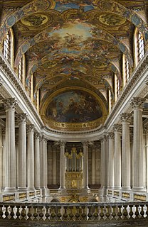 church in the palace of Versaille, France