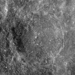 Vesalius (crater) - Image: Vesalius crater AS17 M 1431
