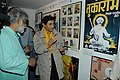 Veteran film star Dev Anand going round the photo exhibition at Kala Academy on the occasion of 37th International Film Festival of India (IFFI-2006) in Panaji, Goa on December 2, 2006.jpg