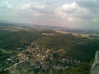 Višňové, Nové Mesto nad Váhom District Municipality in Slovakia