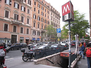 """Chinese people in Italy - An image showing the """"Rome Chinatown"""". Rome, along with Milan and Prato, contains the most significant Chinese community in Italy."""