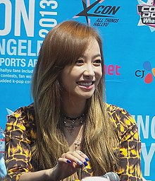 Victoria Song at the 2013 KCON.jpg