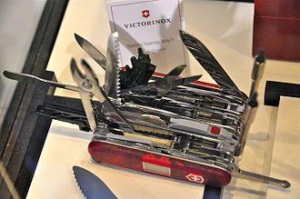 Swiss Army knife - Victorinox Swisschamp XAVT