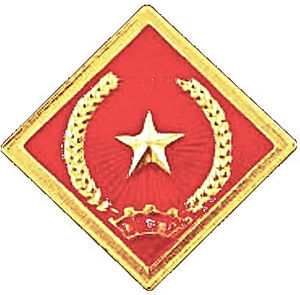 Vietnam People's Armed Forces - Image: Vietnam Civil Defense Force insignia