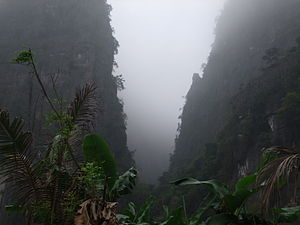 Geography of Vietnam - A valley in the north.