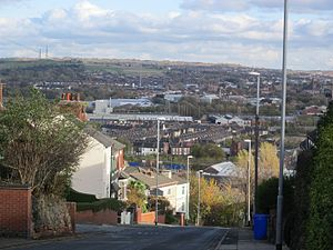 View from Penkhull New Road, Stoke-on-Trent