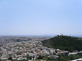 Koukaki Neighborhood in Athens, Attica, Greece