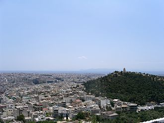 Koukaki - Koukaki from the Acropolis