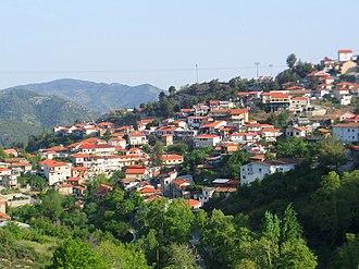 Kyperounta - Scenic view of Kyperounta
