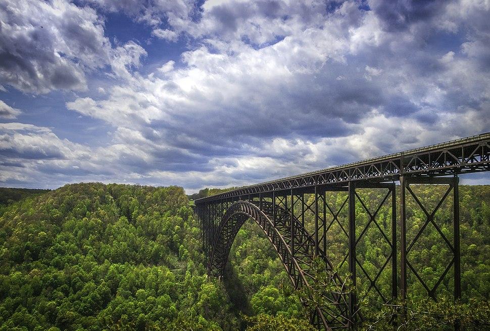 View of New River Gorge Bridge