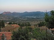 View of artificial lake from Tepeköy village, Gökçeada, Turkey - 20050713.jpg