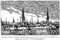 View of the Town of Dortmund in the Sixteenth Century From an Engraving on Copper in P Bertius Theatrum Geographicum.png