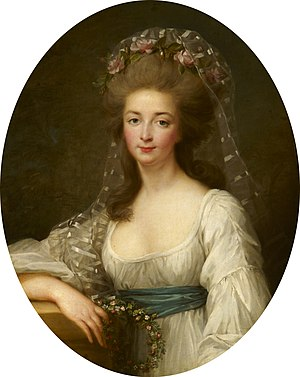 Élisabeth of France (1764–1794) - Vigée Le Brun, manner of - Élisabeth of France