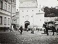Vilnia, Bazylanskaja, Vostraja Brama. Вільня, Базылянская, Вострая Брама (U. Džunkoŭski, 1915).jpg