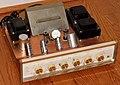 Vintage Sherwood 64 W. Stereo Amplifier, Model S-5500 II, 9 Vacuum Tubes, Made In USA, Circa 1965 (33758889436).jpg