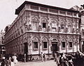 Vintage albumen photograph of a decorated building in India in the 1870s.jpg