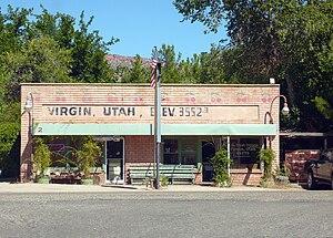 Virgin, Utah - Virgin Bookshop and Post Office