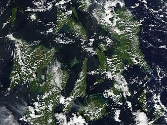 Eastern Visayas - Image: Visayas 2013 11 06