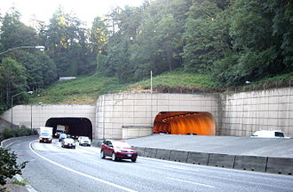 Vista Ridge Tunnels - The west end of the Vista Ridge Tunnels