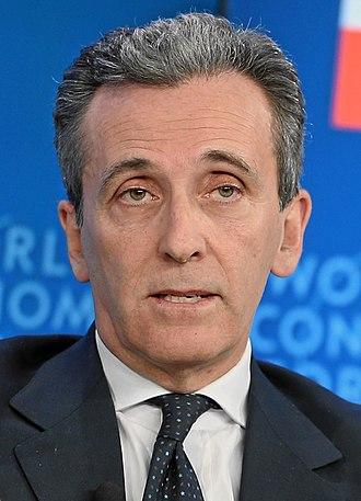Italian Minister of Economy and Finance - Image: Vittorio Grilli crop