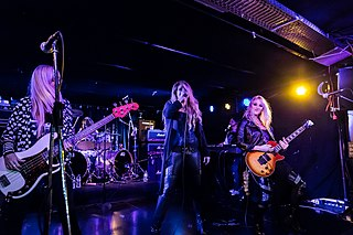 Vixen (band) American all-female hard rock band