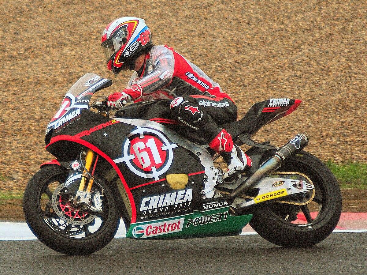 Vladimir Ivanov motorcycle racer