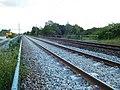 Voie ferrée refaite et ancienne, secteur de Cosne-Cours-sur-Loire.jpg