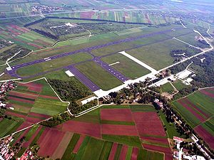 Cerklje ob Krki Airport - Image: Vojašnica Cerklje ob Krki