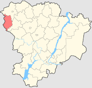 Nekhayevsky District - Image: Volgogradskaya oblast Nekhaevsky rayon