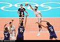 Volleyball match between national teams of Iran and Italy at the Olympic Games in 2016 - 7.jpg