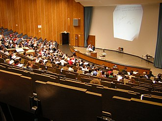 Passive learning - University lecture hall in Aachen