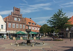 Vreden, fontein op de Markt foto5 2015-08-22 14.04