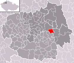 Location of Vrutice
