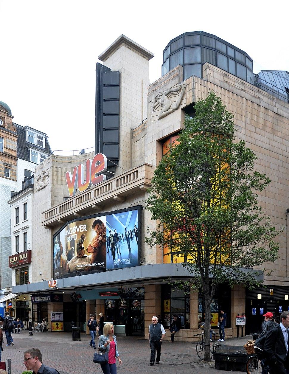 Vue cinema London 2011 2
