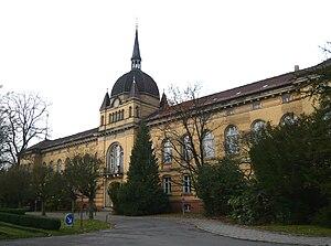 Biesdorf (Berlin) - Image: W G Krankenhaus 8 11 08 Haupthaus 3