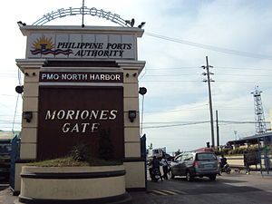 Marcos Road - Moriones Gate of the Manila North Harbor