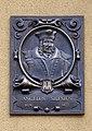 Wałbrzych zamek Czettritzów tabliczka Angelus Silesius 27.07.2011 p.jpg