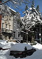 Waddy B. Wood House after snowstorm.JPG