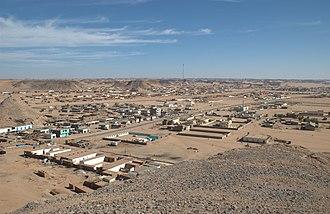 Wadi Halfa - Image: Wadi Halfa,center
