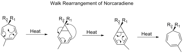 norcaradiene rearrangement