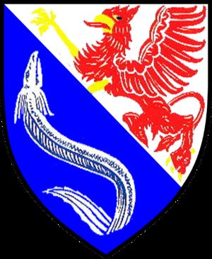 Ahlbeck (near Ueckermünde) - Image: Wappen Ahlbeck