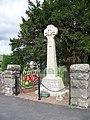 War Memorial, Carno - geograph.org.uk - 553026.jpg